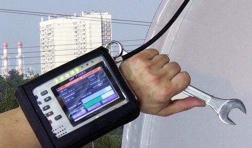 Настройка антенн с помощью специального прибора